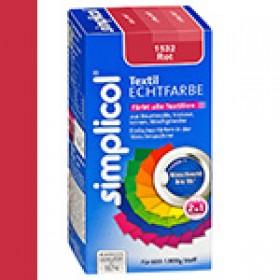 Краска Simplicol для смены цвета 150мл+500г закрепитель красная