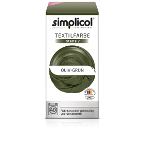 Краска Simplicol для смены цвета 150мл+400г закрепитель оливково-зеленая