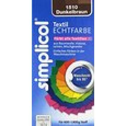 Краска Simplicol для смены цвета 250мл+400г закрепитель темно-коричневая