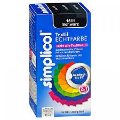 Краска Simplicol для смены цвета 250мл+400г закрепитель черная