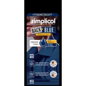 Краска Simplicol для восстановления цвета вещей 400г синяя