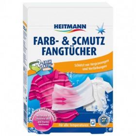 Салфетки Heitmann для защиты цвета и линяния при стирке 18шт