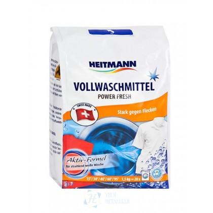 Стиральный порошок для белого и светлого белья Heitmann 1,5кг 20 стирок