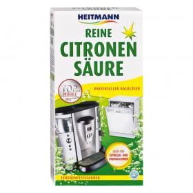 Очиститель от накипи для посудомоечных, стиральных, кофе-машин на основе лимонной кислоты Heitmann 375г